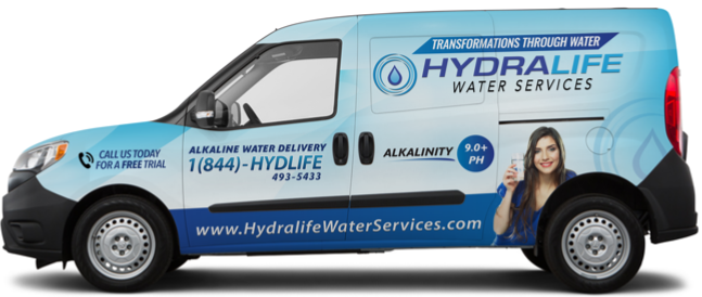 Hydralife Water Services Delivery Van